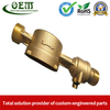 Brass CNC Turned Precision Parts - Ultrasonic Water Meter Body Used for Flow Mater
