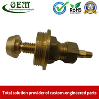 CNC Brass Turned Parts - Brass Terminals Blocks for Solar Energy Equipment