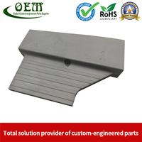 Precision Aluminum Stamping of A Heat Shield for Truck Motors