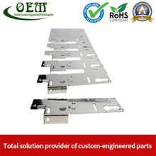 Metal Progressive Die Stamping of Hinge Bracket for Furniture
