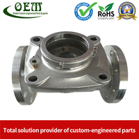 Carbon Steel Parts CNC Turning Water Meter Body Shell
