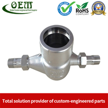 Stainless Steel Casting Base Shell for Water Meters