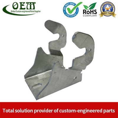 Galvanized Steel Metal Stamping Support Bracket Used for Lift
