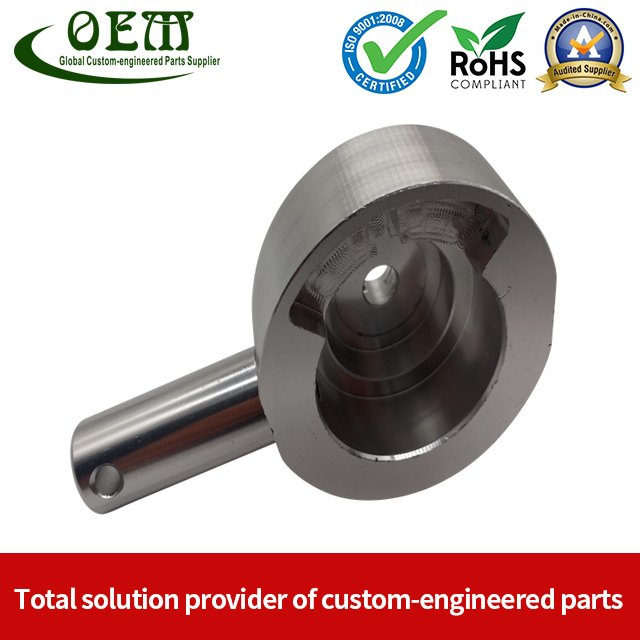 Aluminum Motor Bell - CNC Machining Parts Used for Motorcycle Engine Parts