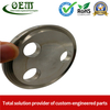 ISO 9001 Qualified CNC Stainless Steel Machining Parts - Cylinder Flange for Telecommunications