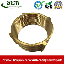 Copper Brass CNC Turned Reducers for Petro - Chemical Industry