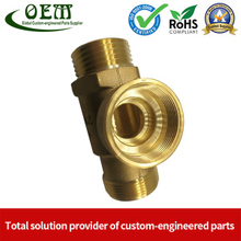 OEM Customized CNC Milling Brass Sleeve for Pump Spare Part