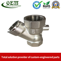 AISI 304 Stainless Steel Casting Machining Body Parts Used for Water Pump