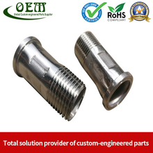 Carbon Steel CNC Machining Parts Coupler Fittings for Sports Equipments