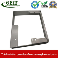 Custom Design OEM Stainless Steel Sheet Metal Stamping Bracket Frame for Telecommunications