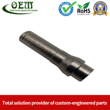 OEM Custom Stainless Steel CNC Turned Parts - Hollow Threaded Shaft for MOD (Defence)